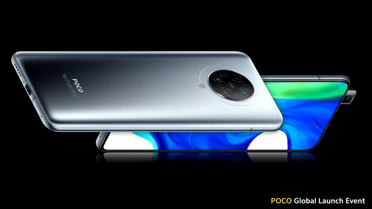Poco F2 Pro: 499 euro untuk Snapdragon 865, kamera quad dan takik (kemas kini)