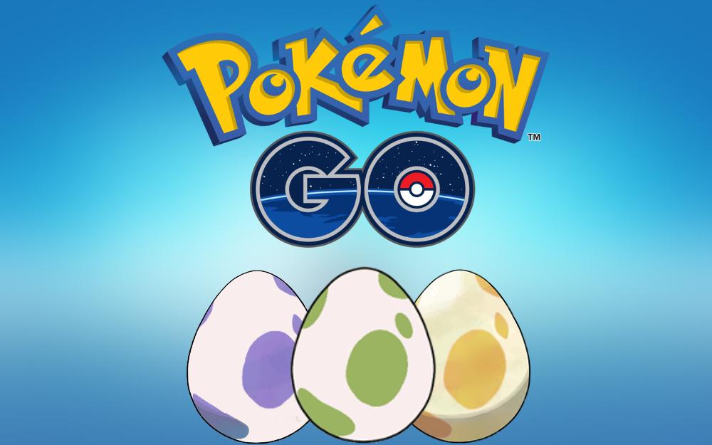 Pokemon Go 2km, 5km, 7km dan 10km Egg Chart Mei 2020