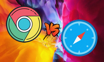 So sánh Chrome với Safari Ipados
