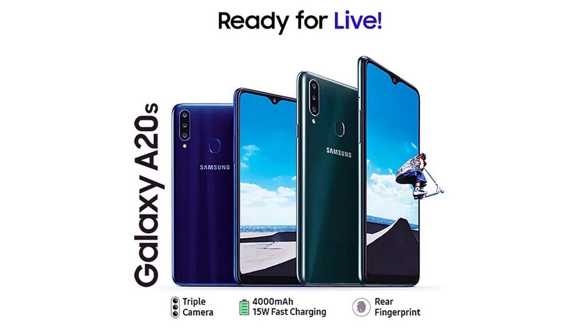 Samsung Galaxy Một giao diện người dùng A20 2.0 Bắt đầu cập nhật Android 10 với: Báo cáo 1