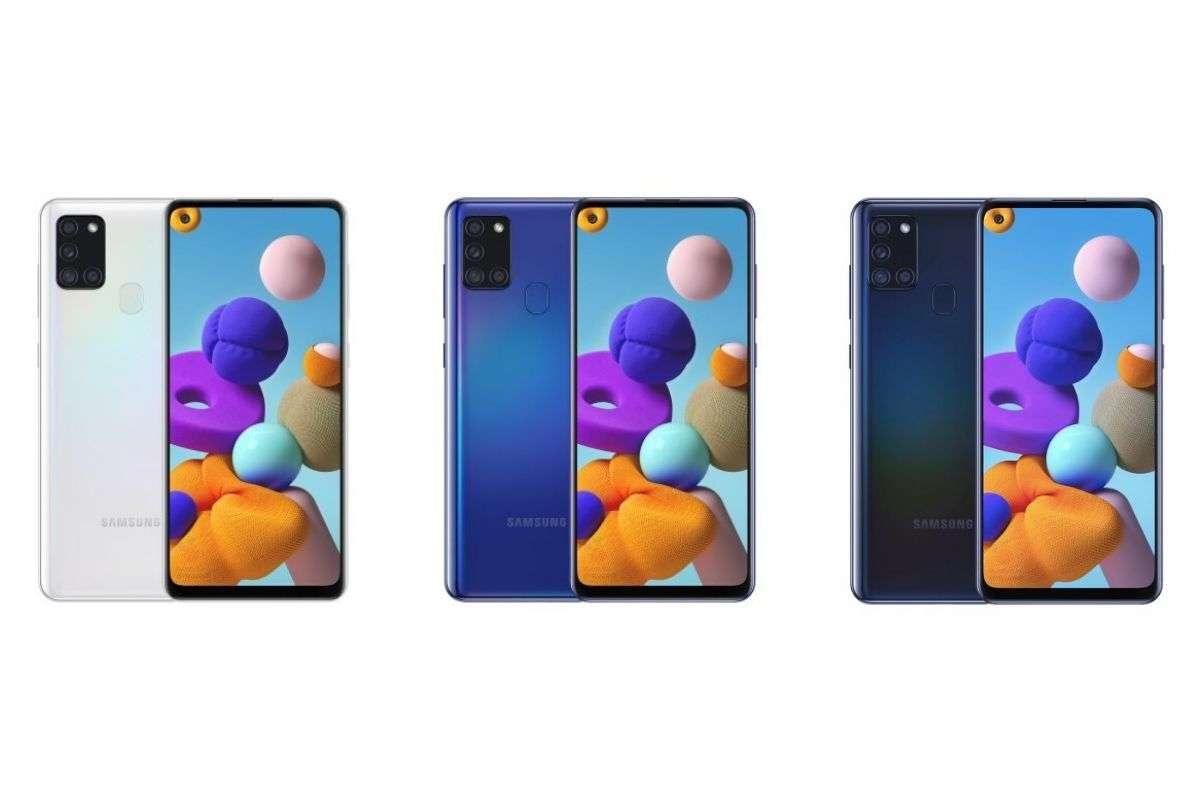 Samsung Galaxy Hình ảnh và tính năng của A21 bị rò rỉ; Exynos sẽ là điện thoại đầu tiên có 850 SoC 3