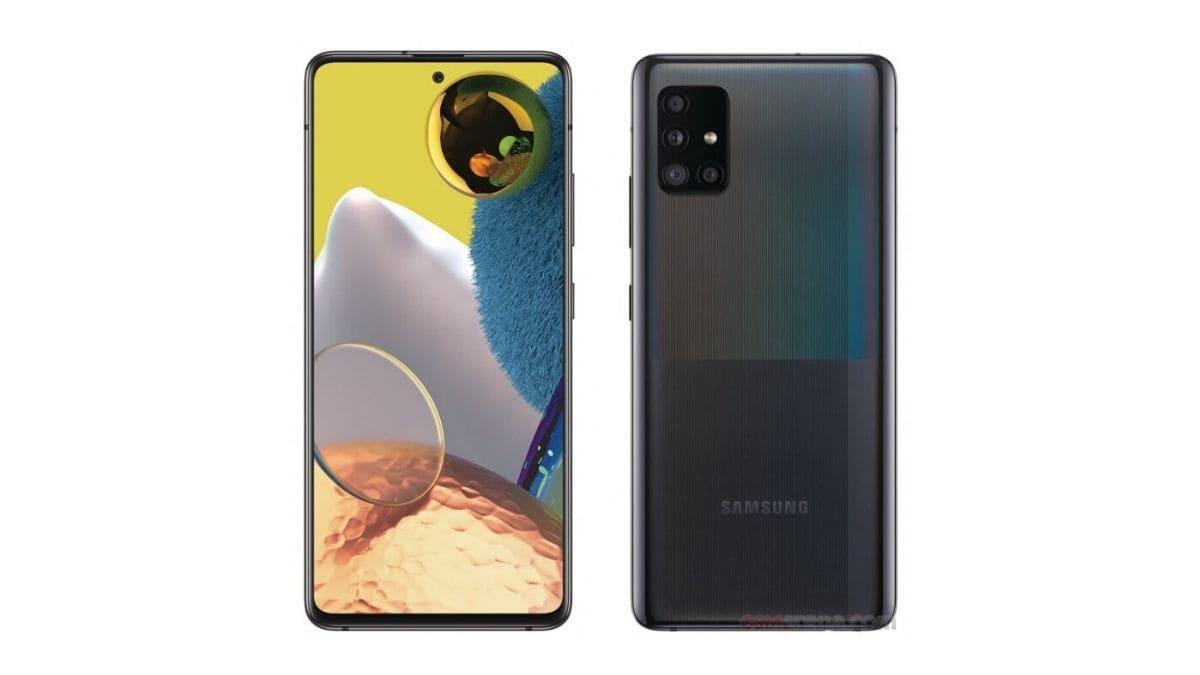 Samsung Galaxy Varian A51 5G Dalam Karya, Cadangan Imej Bocor