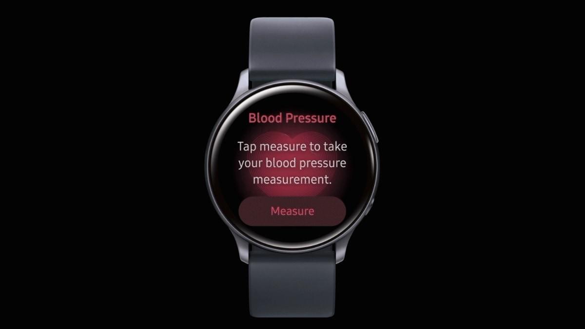 Samsung công bố ứng dụng theo dõi huyết áp Galaxy Đồng hồ hoạt động 2 1