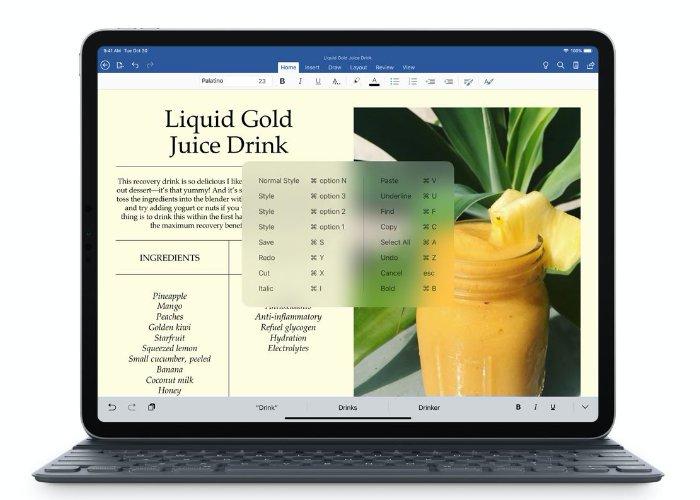 Bộ phần mềm Microsoft Office iPad hiện hỗ trợ nhiều phiên bản windows 1
