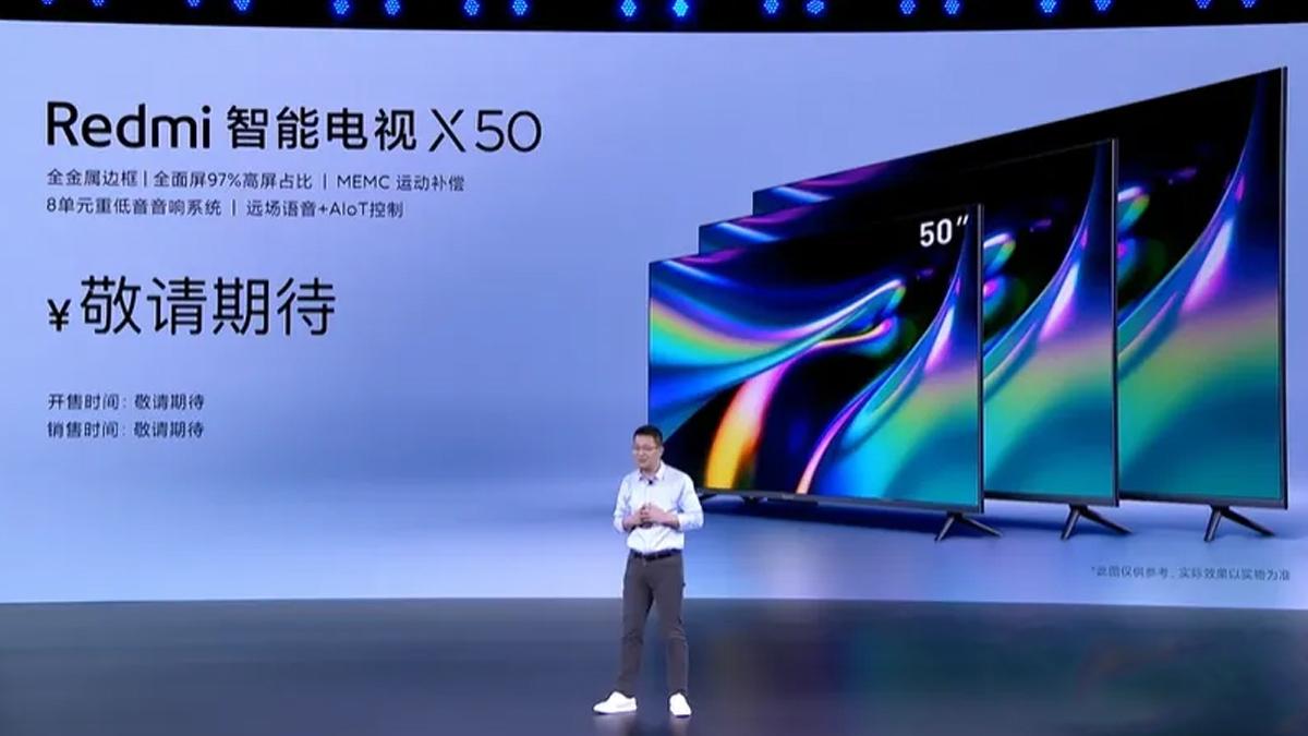 TV siri Xiaomi Redmi X dengan pampasan dinamik MEMC diumumkan
