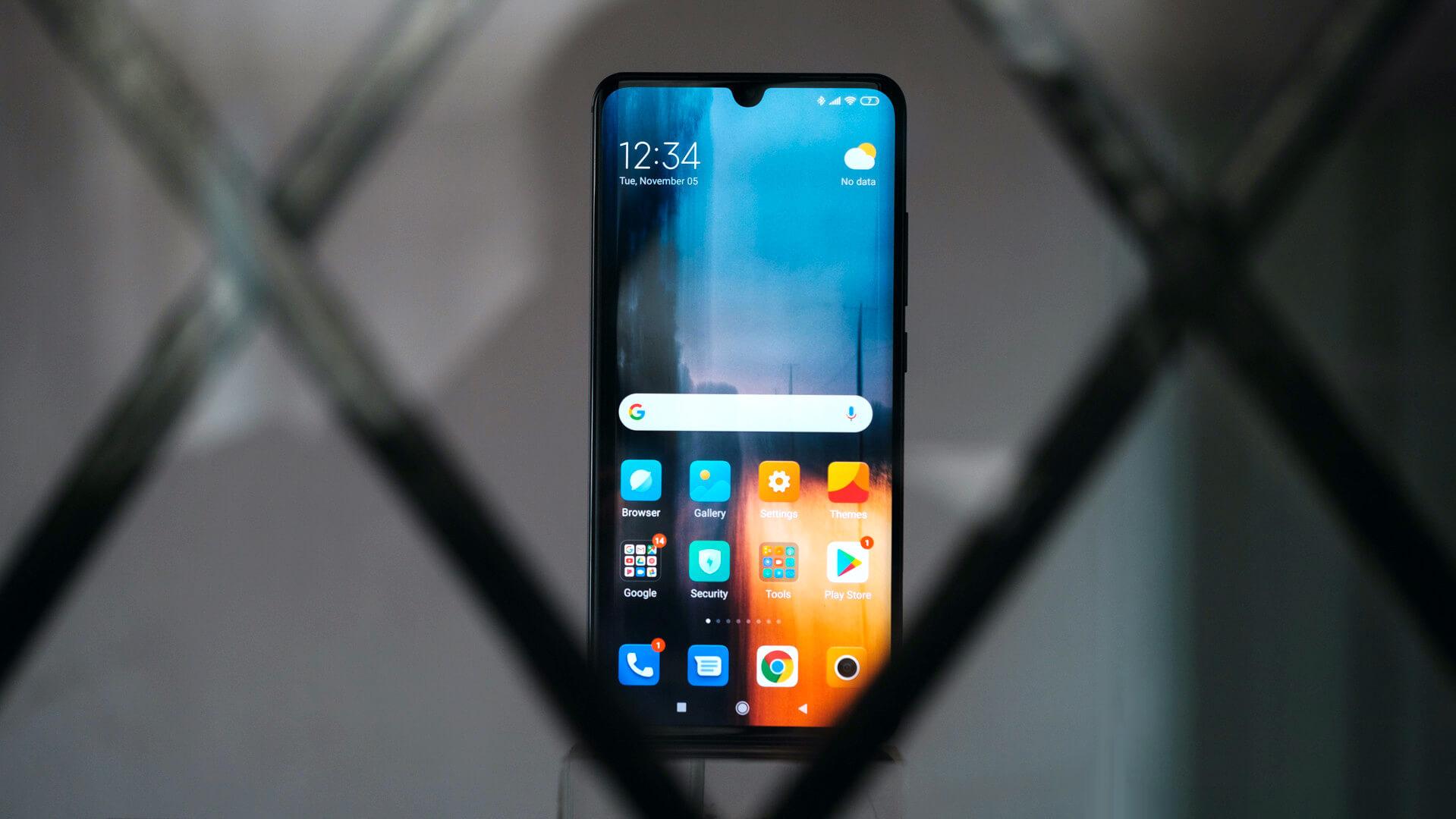 Điện thoại thông minh của Xiaomi theo dõi người dùng 3