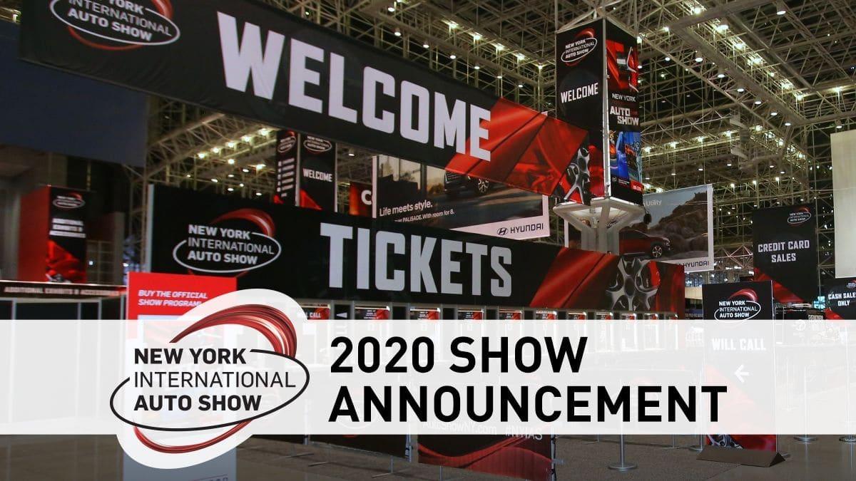 Không chậm trễ nữa: Triển lãm ô tô New York kết thúc vào năm 2021 3