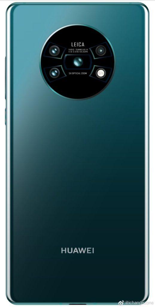 Khiếu nại đằng sau Huawei Mate 30 Pro được quét 1