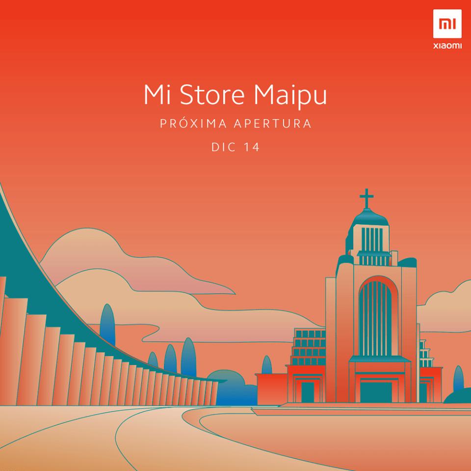 Chile Xiaomi thông báo ra mắt Mi Store Maipú mới vào thứ Bảy ngày 14 5