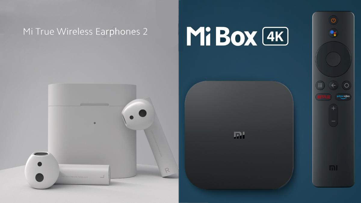 Xiaomi ra mắt Tai nghe không dây Mi Box 4K và Mi True tại Ấn Độ 1