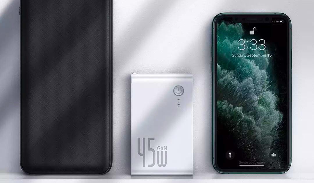 Xiaomi cung cấp tính năng sạc nhanh với chức năng gallium nitride và powerbank 2