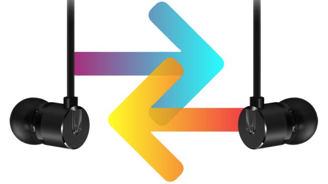 tai nghe OnePlus Nhiều sử dụng cáp khi chuyển đổi kênh âm thanh để thông báo cho người dùng trái và phải 2