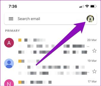 Betulkan gmail yang tidak meanima e-mel di iphone 01