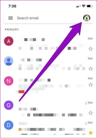 Betulkan gmail yang tidak meanima e-mel di iphone 011