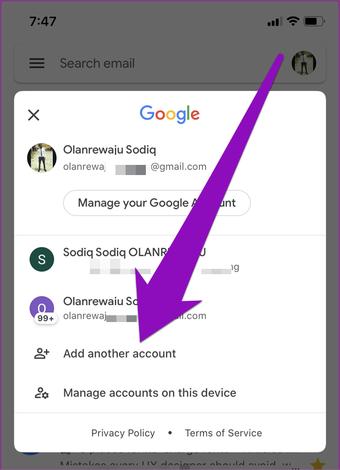 Betulkan gmail yang tidak meanima e-mel di iphone 09