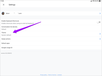 Cara Mengaktifkan Atau Menonaktifkan Mode Gelap Di Gmail Pada Iphone Dan Ipad