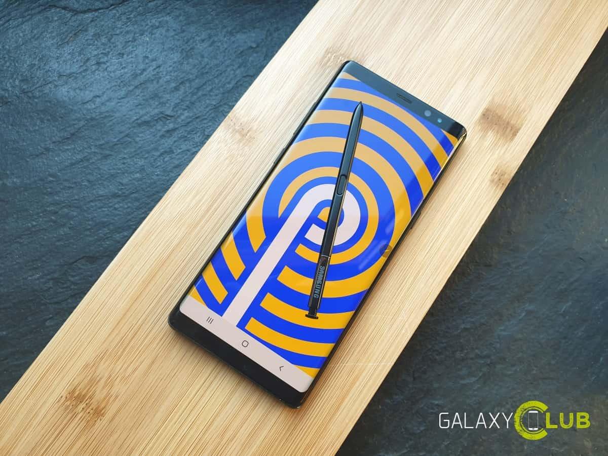 Kemas kini pertama Samsung dengan patch Jun di Belanda: Galaxy Nota 8