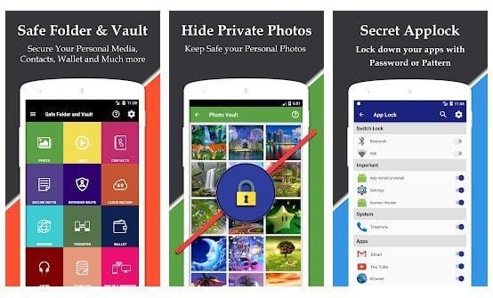 Zablokuj sejf aplikacji Vault