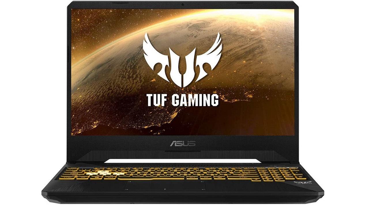 ASUS TUF FX505DT-BQ121, salah satu komputer riba permainan termurah