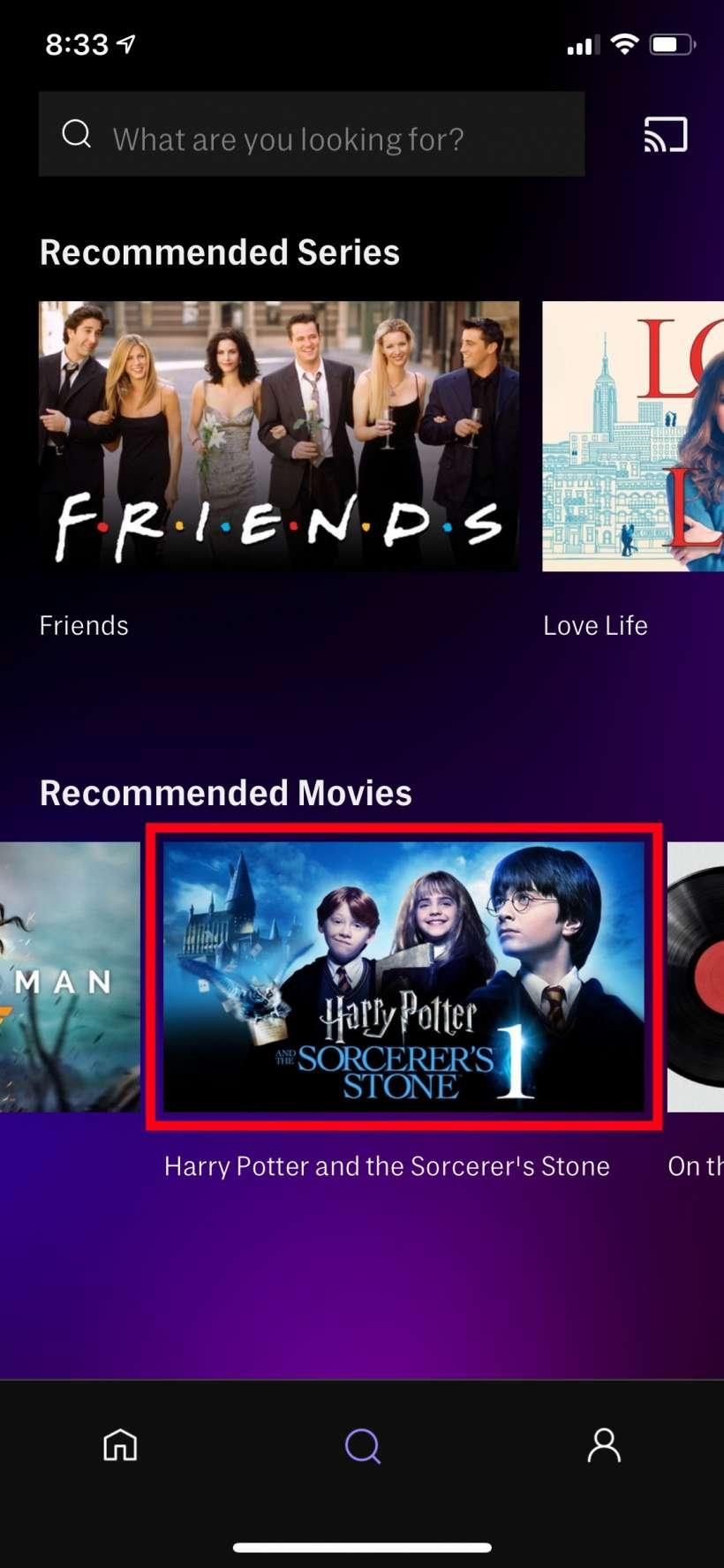 Cara menonton kandungan HBO Max di iPhone anda semasa di luar talian