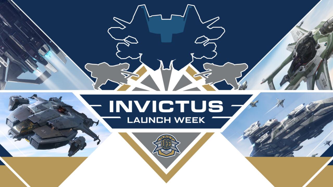 Pelancaran Invictus Minggu 2950: Star Citizen masih memuat sehingga 2. Jun untuk penerbangan percuma [Notiz]
