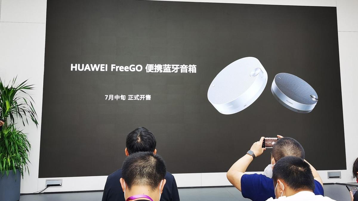 """Huawei FreeGo -puhelimen Bluetooth-kaiutin, jossa on """"Touch-and-talk"""" -teknologia, lanseerataan 1"""