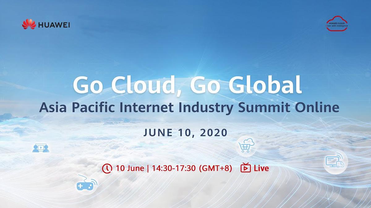 Aasian ja Tyynenmeren Internet-alan huippukokous HUAWEI CLOUD järjestetään 10. kesäkuuta; Voita uusi Huawei P40 -voittaja ja enemmän!