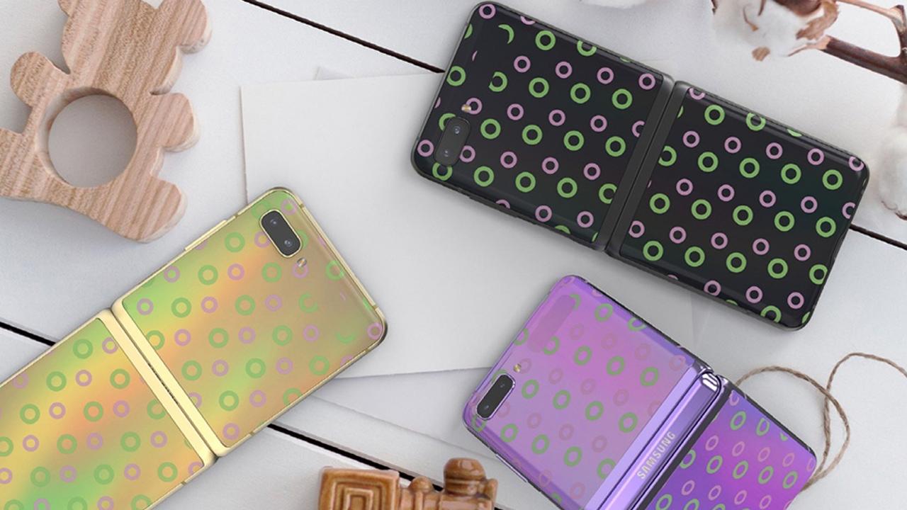 Mae Samsung yn darparu lledr arbennig ar gyfer Galaxy Z Yn ôl yn Korea 1