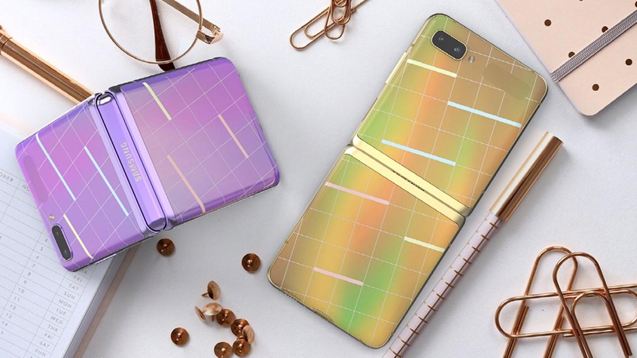 Mae Samsung yn darparu lledr arbennig ar gyfer Galaxy Z Yn ôl yn Korea 2