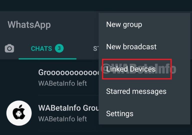 WhatsApp: dyfeisiau cysylltiedig