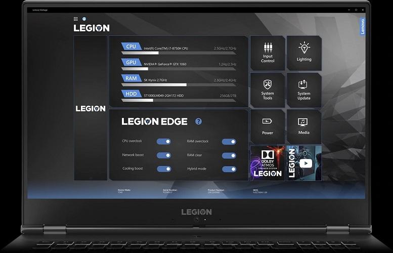 Lleng Lenovo Y540-17IRH