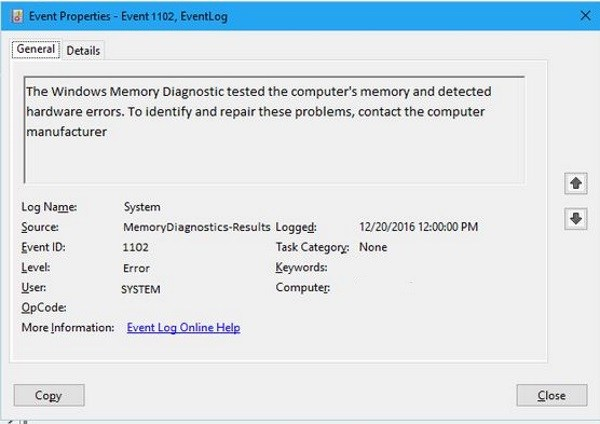 Windows Ako skontrolovať, či vaša RAM pracuje správne v systéme Windows 6