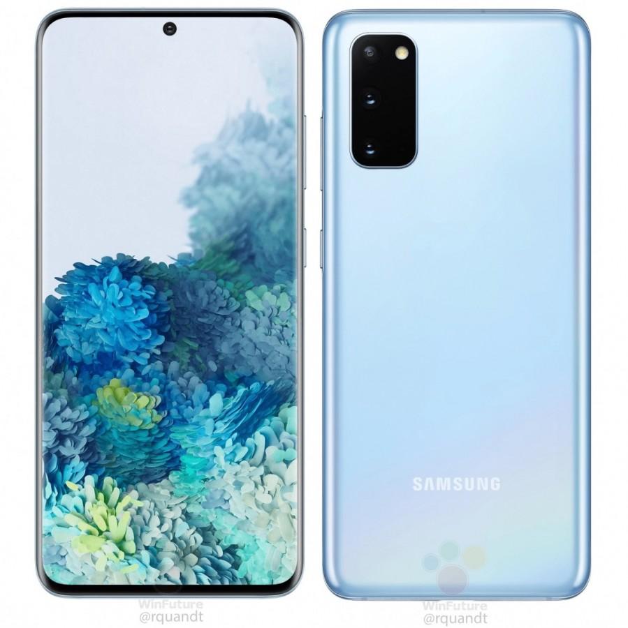 Samsung Galaxy S20 Farebné možnosti