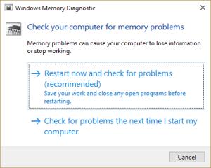 Windows Ako skontrolovať, či vaša RAM pracuje správne v systéme Windows 5