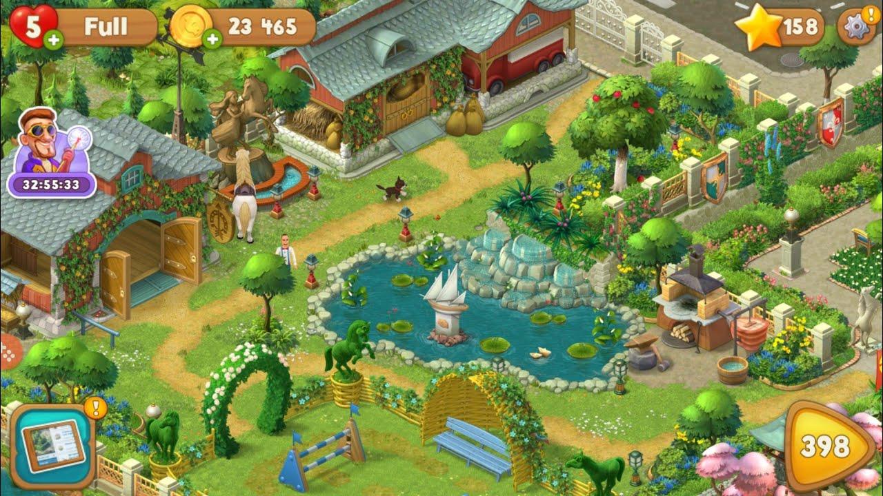 Stiahnite si Gardenscapes na PC 4