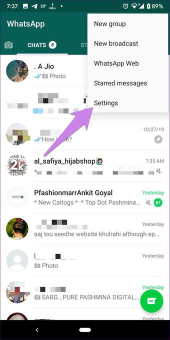 Whatsapp obrázky nezobrazujú galériu na Android iphone 2