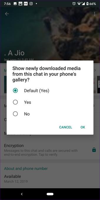 Whatsapp obrázky nezobrazujú galériu na Android iphone 7
