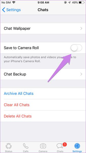 Whatsapp obrázky nezobrazujú galériu na Android iphone 19