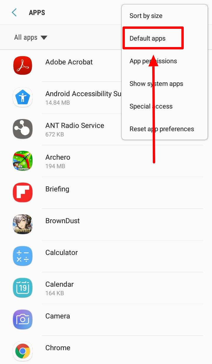 Ako zmeniť spúšťač Android na svojich zariadeniach - Zmena predvoleného kroku spúšťača 4