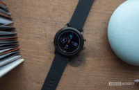 fosílny gen 5 ciferník hodiniek na zobrazenie inteligentnej hodinky 3