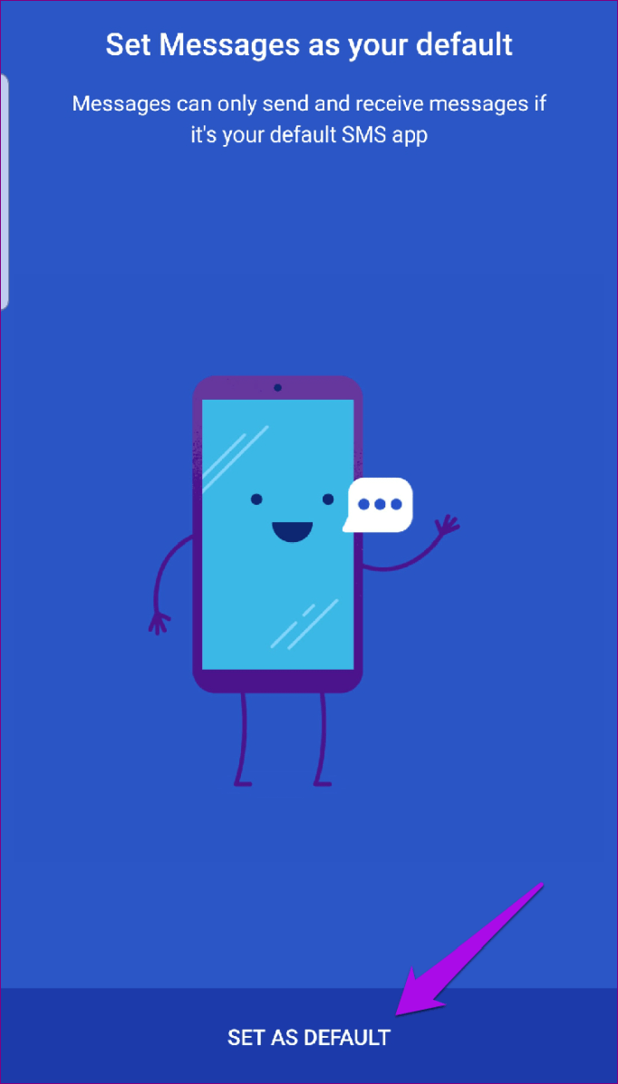 Predvolené súpravy správ Android Rcs
