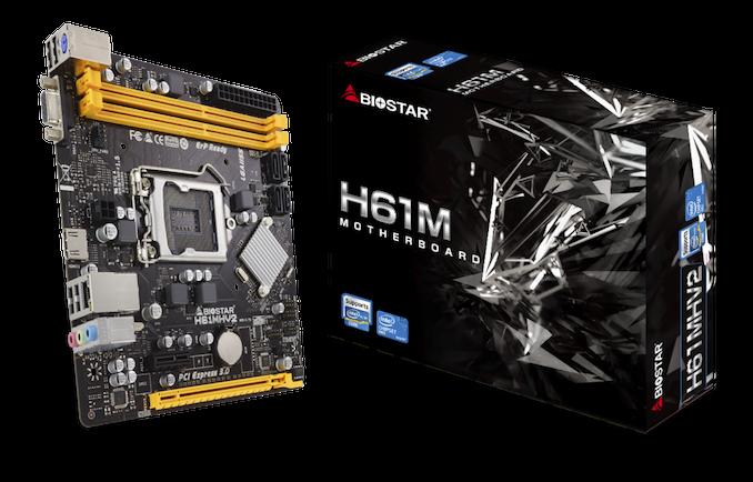 V roku 2011 sa volá: Biostar Relaunches H61 Chipset v roku 2020 2