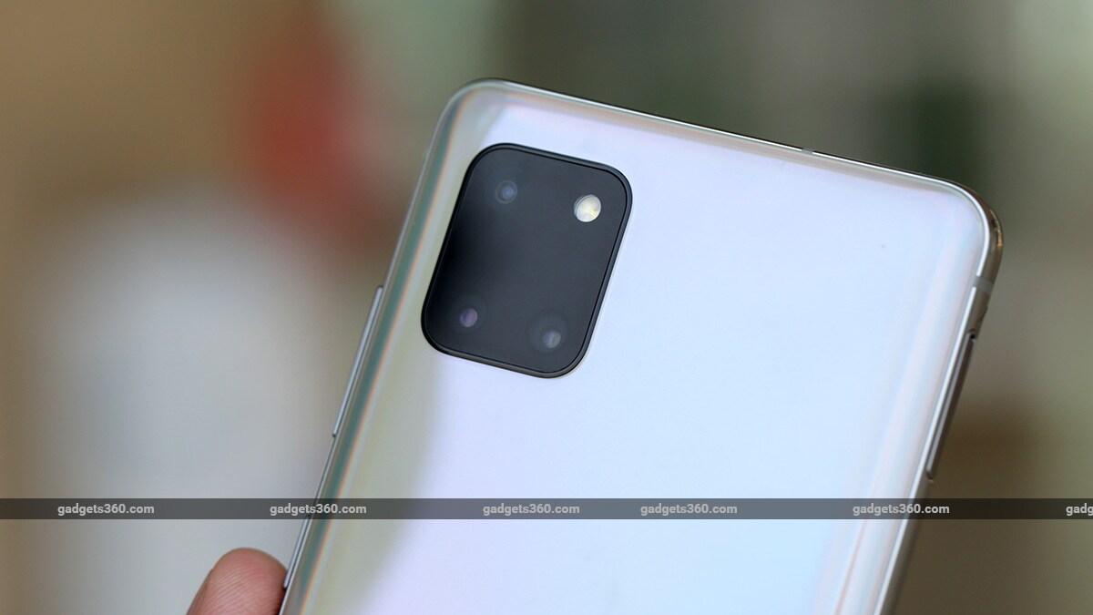 Samsung Samsung Galaxy Note lite 10 fotoaparátov Samsung Galaxy Note  10 Lite Review