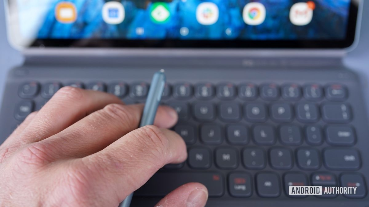 Samsung Galaxy Tab S6 kontrolná ruka S Pero klávesnica