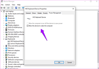 Oprava lepivých kláves nefunguje Windows 10 14