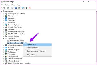 Oprava lepivých kláves nefunguje Windows 10 6