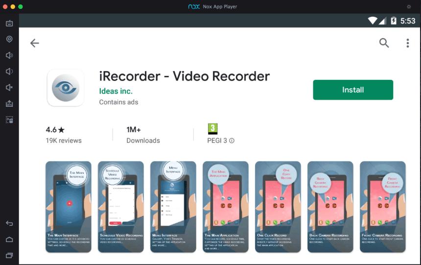 Stiahnite si videorekordér iRecorder pre PC (Windows a Mac) 3