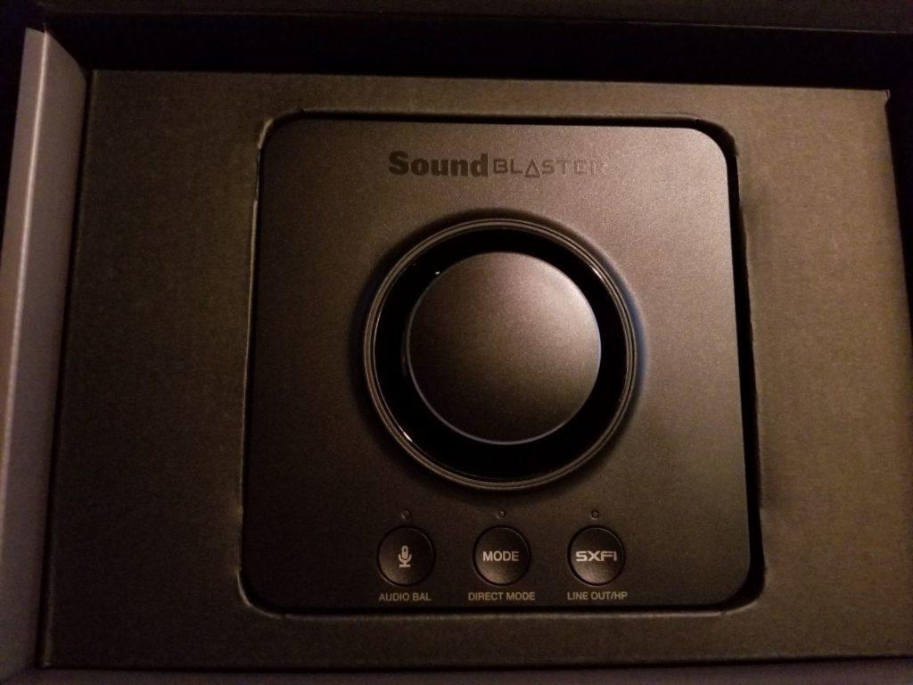 Sound Blaster X3 - Hi-Res 7,1 Super X-Fi USB DAC s náhlavným zosilňovačom Recenzie 5