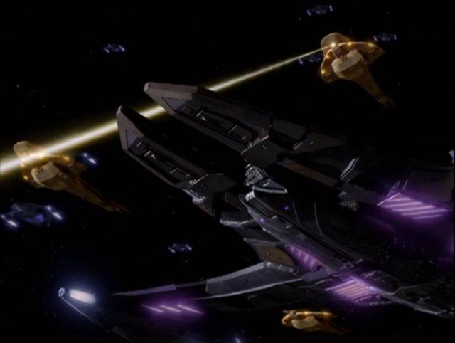 Upscaling Star Trek: Deep Space Deväť pomocou AI Topaz Video Enhance 13
