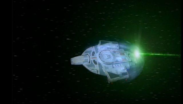 Upscaling Star Trek: Deep Space Deväť pomocou AI Topaz Video Enhance 4